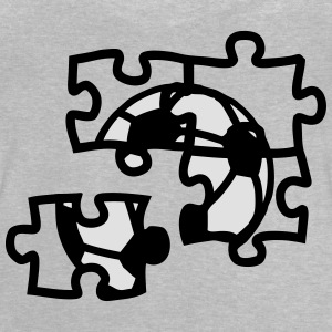 football ball soccer puzzle 2901 Shirts - Baby T-Shirt