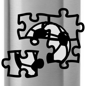 football ball soccer puzzle 2901 Hoodies & Sweatshirts - Water Bottle