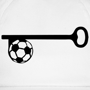 key football soccer Shirts - Baseball Cap