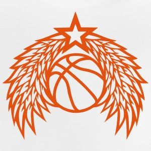 Basketball ball star wing logo Shirts - Baby T-Shirt