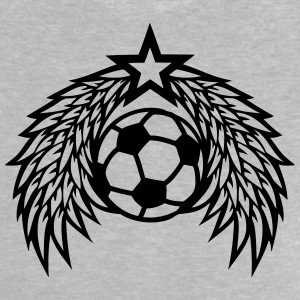 football soccer ball star wing logo Shirts - Baby T-Shirt