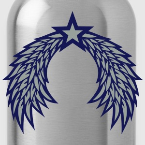 Wing star angel 2901 T-Shirts - Water Bottle