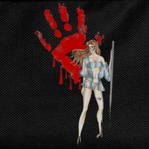 bloody-hand-woman T-Shirts - Kids' Backpack