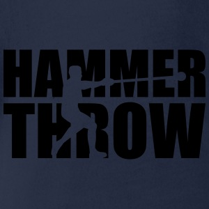 Hammer throw T-Shirts - Baby Bio-Kurzarm-Body