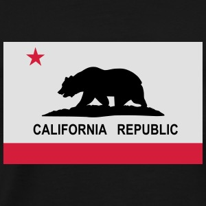 Flag of California Hoodies & Sweatshirts - Men's Premium T-Shirt