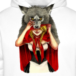 Little Red Riding Hood - Sudadera con capucha premium para hombre