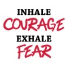 Inhale courage, exhale fear T-Shirts - Männer Premium T-Shirt