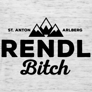 St. Anton Rendl Bitch  T-Shirts - Women's Tank Top by Bella
