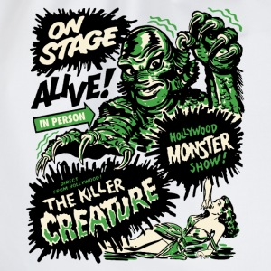 Weiß The Killer Creature Hollywood Show T-Shirts - Turnbeutel