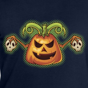 Halloween Evil Scary Pumpkin T-Shirts - Men's Sweatshirt by Stanley & Stella