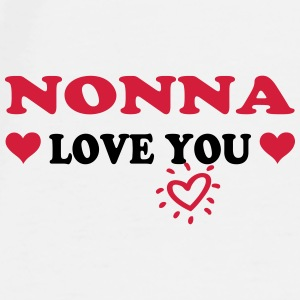 Nonna love you Mugs & Drinkware - Men's Premium T-Shirt