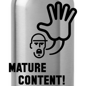Mature Content! (Warning) T-Shirts - Water Bottle