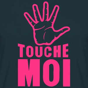 main touche moi 2601 Tabliers - T-shirt Homme