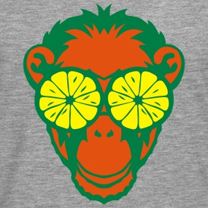 Monkey eye ring lemon drawing Tops - Men's Premium Longsleeve Shirt
