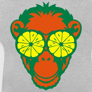 Monkey eye ring lemon drawing Shirts - Baby T-Shirt