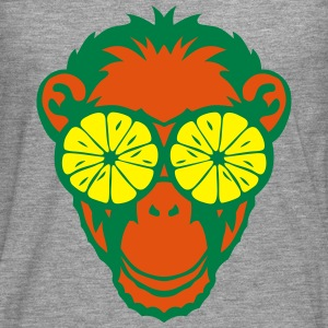 Monkey eye ring lemon drawing Shirts - Men's Premium Longsleeve Shirt