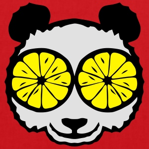 Panda eye lemon drawing Shirts - Tote Bag