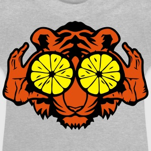 Tiger eye ring lemon hand drawing Shirts - Baby T-Shirt