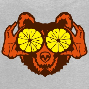 Bear eye drawing lemon hand drawing Shirts - Baby T-Shirt