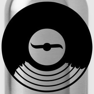 Vinyl LP 33 music disk Tops - Water Bottle