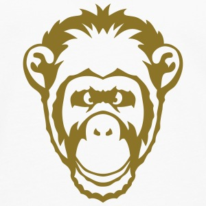 Monkey animal drawing 2501 Tops - Men's Premium Longsleeve Shirt
