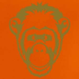 Monkey animal drawing 2501 Shirts - Baby T-Shirt