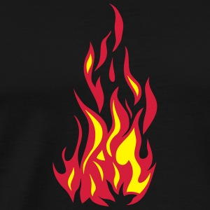 flame fire 2501 Sports wear - Men's Premium T-Shirt