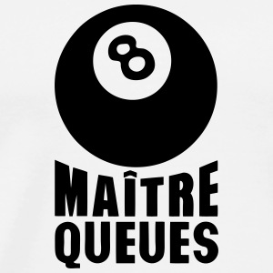 maitre queues boule billard expression Vêtements de sport - T-shirt Premium Homme