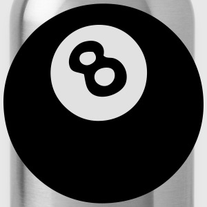 8 ball billiards Shirts - Water Bottle