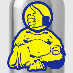 Buddha buddhis inch ok zen Shirts - Water Bottle