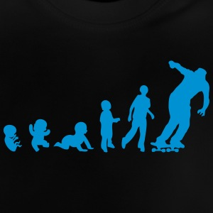 evolution skateboarder bebe adulte 2101 Tee shirts - T-shirt Bébé