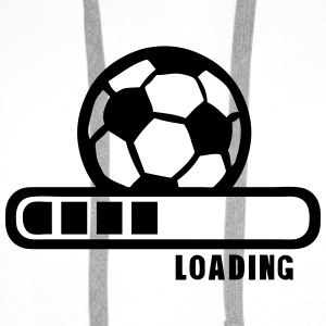 football ballon loading progress bar Shirts - Men's Premium Hoodie