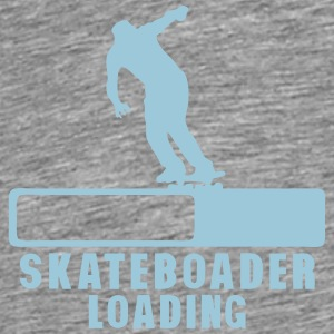 skateboarder loading progress bar 2 Tops - Men's Premium T-Shirt