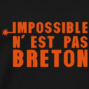 breton impossible nest pas meche Vêtements de sport - T-shirt Premium Homme