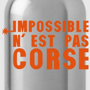 corse impossible nest pas meche Tee shirts - Gourde