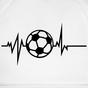 football trace curve heart word beat Tops - Baseball Cap