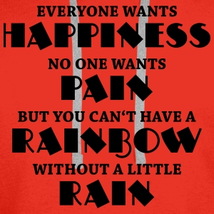 Everyone wants happiness Långärmade T-shirts - Premiumluvtröja herr