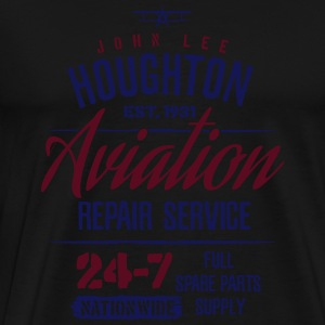 John Lee Houghton Aviation Repair Service  - Men's Premium T-Shirt