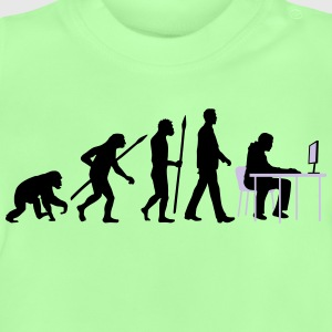 evolution_of_man_pc_gamer01_2c T-Shirts - Baby T-Shirt