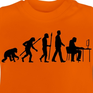 evolution_of_man_pc_gamer03_1c T-Shirts - Baby T-Shirt