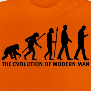 evolution_of_man_smartphone03_1c T-Shirts - Baby T-Shirt