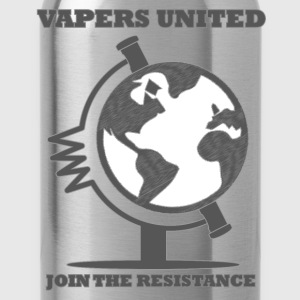 Vapers United Globe T-Shirts - Water Bottle