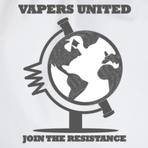 Vapers United Globe T-Shirts - Turnbeutel