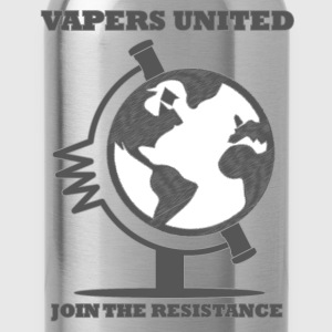 Vapers United Globe T-Shirts - Trinkflasche