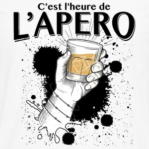 apero time Sweat-shirts - T-shirt manches longues Premium Homme