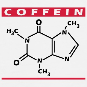 Caffeine chemical - Cofffee to go - Männer Premium T-Shirt