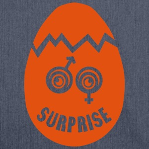 Pregnancy Egg Surprise Girl Boy T-Shirts - Shoulder Bag made from recycled material
