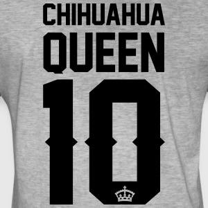 Chihuahua-Queen Jackets & Vests - Men's Vintage T-Shirt