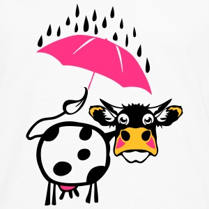 Cow drawing umbrella 1301 T-Shirts - Men's Premium Longsleeve Shirt