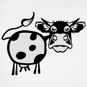 cow drawing 1301 Hoodies & Sweatshirts - Baseball Cap